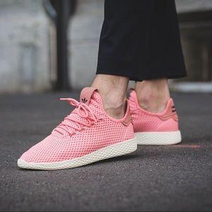 Adidas x Pharrell Williams Tennis Hu Rose Shoes